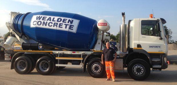 Wealden Concrete - Ready Mix Concrete, Cranbrook, Kent